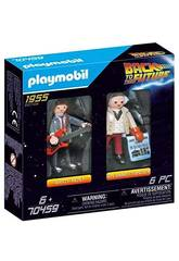 Playmobil Ritorno al Futuro Marty McFly e Dr. Emmett Brown 70459