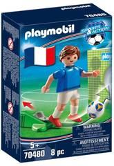 Playmobil Fussballspieler Frankreich 70480