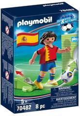 Playmobil Jogador de Futebol Espanha 70482