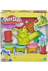 Playdoh Kit de Herramientas Growing Garden Set Hasbro E3564