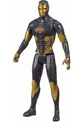 Avengers Figura Titã Gold Iron Man Hasbro E7878
