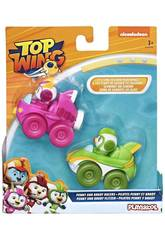 Top Wing Pack 2 Mini Véhicules Brody and Betty Racers Hasbro E5352