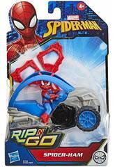 Spiderman Rip N Go Spiderham Hasbro E7738