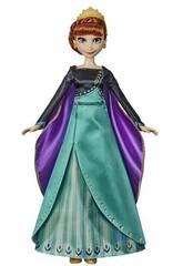 Frozen 2 Puppe Anna Musikalisches Abenteuer Hasbro E8881