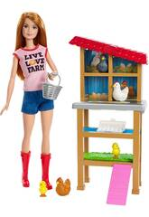 Barbie Io Posso Essere Contadina Mattel FXP15