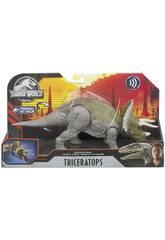 Jurassic World Dinosonidos Triceratops Mattel GJN65