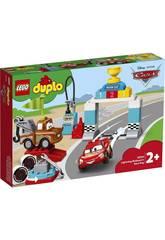 Lego Duplo Cars Dia da Corrida de Faísca McQueen 10924