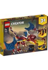 Lego Creator Dragon de Feu 31102