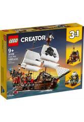Lego Creator Barca Pirata 3 in 1 31109