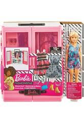 Barbie Super Placard avec une Poupée et Des Accessoires Mattel GBK12