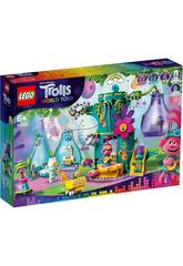 Lego Trolls Fête à Pop Village 41255