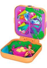 Polly Pocket Überraschungwelt Lila und Dinosaurier Mattel GKV10