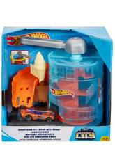 Hot Wheels City Downtown Heladería Mattel GJK74