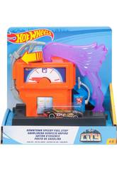 Hot Wheels City Downtown Station-service Mattel FMY97