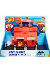 Hot Wheels City Oficina Furia do Gorila Mattel GJK89