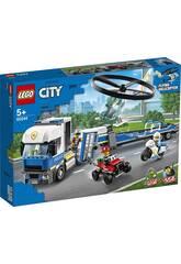 Lego City Police Camion de Transport de l'hélicoptère 60244