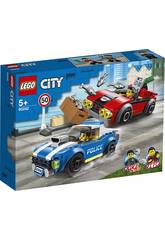 Lego City Police Arrestation Effectuée sur une Autoroute 60242
