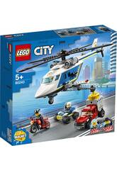 Lego City Police Perseguição no Helicóptero 60243