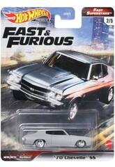 Hot Wheels Veículos Fast & Furious Mattel GBW75