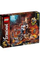 Lego Ninjago Mazmorras del Hechicero Calavera 71722