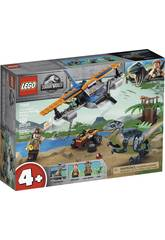 Lego Jurassic World Velociraptor: Misión de Rescate en Biplano 75942