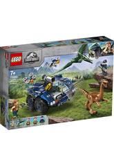 Lego Jurassic World Fuga del Gallimimus e il Pteranodon 75940