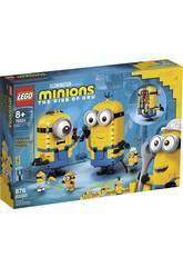 Lego Minions y Su Guarida para Construir 75551