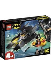 Lego Batman Chasse au Pingouin Sur Le Batbateau! 76158
