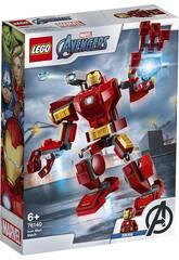 Lego Super Heroes Armadura Robótica de Iron Man 76140