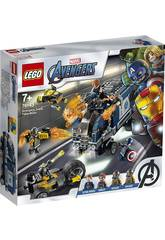 Lego Super Heroes Vengeurs Crash du Camion 76143