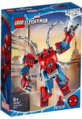 Lego Marvel Spiderman Robotische Rüstung von Spiderman 76146Handle mit deinem Lieblingssuperhelden in einem noch nie dagewesenen Stil! Multipliziere die Action mit der neuen <b>Lego Marvel Spiderman Robotischen Rüstung von Spiderman</b>! Nimm dieses neue Lego-Set mit nach Hause, das eine Mini-Spiderman-Figur sowie eine zu bauende Rüstung enthält, um die Mini-Spiderman-Figur in seine Kabine einzuführen und alle Bösewichte in der Stadt zu überraschen. Verwende diese Megakraft, um die Stadt wieder zu beruhigen. Die Rüstung enthält eine Faust, die Spinnweben und viele weitere Überraschungen werfen kann. Empfohlenes Alter: + 6 Jahre. Enthält: 1 Spiderman-Roboterrüstung mit Loch für eine Mini-Figur, vier Spinnenbeine auf dem Rücken und dem Spinnennetz, 1 Mini-Spiderman-Figur und weiteres Zubehör. Gesamtzahl der Teile: 152 Stück. Ungefähre Höhe der Roboterrüstung: 15 cm hoch. Ungefähre Maße der Spiderman-Mini-Figur: 4,2 cm hoch, 2,5 cm breit und 0,8 cm tief.
