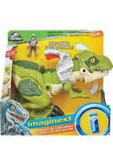 Imaginext Jurassic World Tiranosaurio Megamandíbula Mattel GBN14