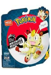 Pokémon Mega Construx Meowth Mattel GKY98