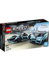 Lego Speed Champions Formule E Panasonic Jaguar Racing Gen2 Car and Jag 76898