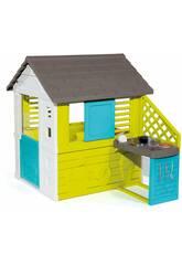 Haus Pretty II mit Küche und Accesoires Smoby 810711
