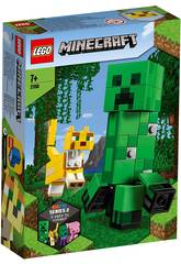 Lego Minecraft Big Fit Creeper y Ocelote 21156