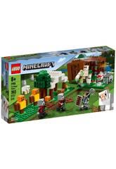 Lego Minecraft La Zona dei Saccheggiatori 21159