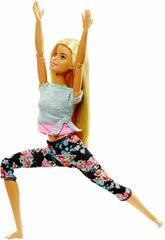 Barbie Movimientos Sin Límites Rubia Mattel FTG81