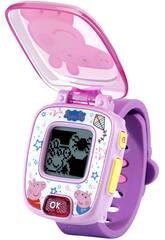 Peppa Pig Reloj Morado Vtech 526022