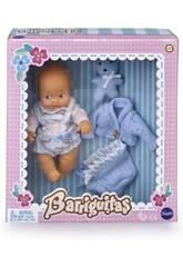 Barriguitas Set de Bebé con Ropita Azul Famosa 700015697