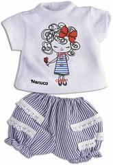 Nenuco Petits Vêtements Décontractés 35 cm. Dessin d'une Poupée Famosa 700013822