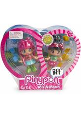 Pinypon Best Friends 2 Capelli Rosa e Capelli Neri Famosa 700015572