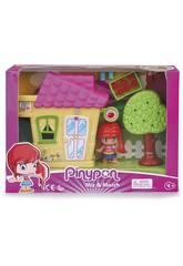 Pinypon Mini Gelbes Haus mit Figur von Famosa 700015606