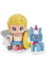 Pinypon Sterne und blaues Haustier von Famosa 700015732