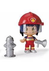 Pin y Pon Action Serie 2 Figura Bombera Famosa 700015147