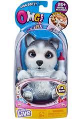 Little Live Pets Omg Perrito Huskle Famosa 700015739