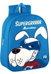 Sac à Dos Garderie Supergrrrrr Marvelous Bleu Montichelvo 57043
