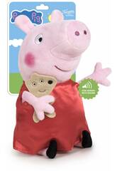Peluche Peppa Pig 27 cm. com Som Famosa 760018704