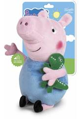 Peluche Peppa Pig George 27 cm.com Som Famosa 760018704