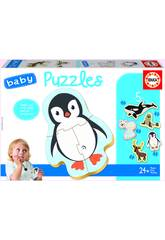 Baby Puzzle Animali Polo Nord Educa 18588
